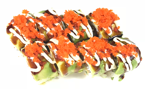 Foto Soft shell crab roll 8st.